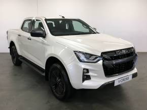 Isuzu D-max 1.9 D-MAX V-CROSS Pick Up Diesel Pearlescent White at Trelawny Penzance